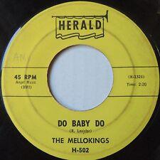 MELLOKINGS rare DO BABY DO herald DOO WOP ORIG 45 HERALD hear