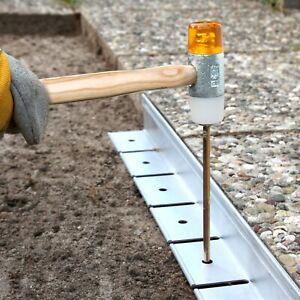 Aluminium Pflasterkante, Randbefestigung, Randprofil, Länge 200 cm, Höhe 7,8 cm