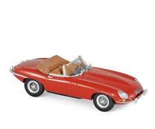 Jaguar E-Type Cabrio 1961 rot 1:43 Norev 270062 neu + OVP