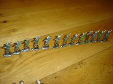 Lot of 13 Vintage Iron Army Soldier Figures