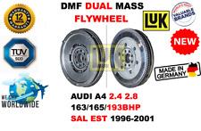 Pour Audi A4 2.4 2.8 163/165/193BHP Paire Est 1996-2001 Neuf Dmf Double Volant