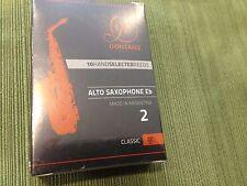 One Box of 10 GONZALEZ CLASSIC ALTO SAX REEDS #2