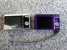 2x Digital Camera Fujifilm Finepix JX500 14 MP + Kodak EasyShare M340 10,2 MP