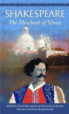 Bantam Classics: The Merchant of Venice by William Shakespeare (1988, Paperback)
