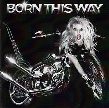 LADY GAGA : BORN THIS WAY / CD