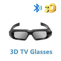 2x Blue-tooth Active Shutter 3D Glasses 3DTV for Sharp Sony Epson 3LCD Projector