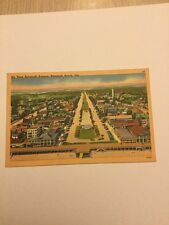 Old Postcard 1950's Air View Rehoboth Beach Delaware