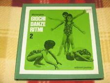 """Mariangela - GIOCHI DANZE RITMI Vol.2 / Cofanetto 5Lp 7"""" Edizioni Paoline 5LP 7"""""""