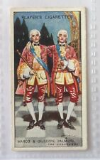 Marco & Giuseppe Palmieri Gilbert and Sullivan 1927 The Gondoliers Card (B75)
