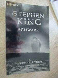 """2004 - """"  SCHWARZ """"  STEPHEN  KING - Der Dunkle Turm - Silberglanz"""