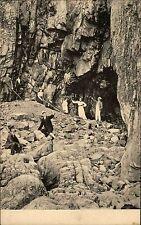 Kullen Sverige Schonen AK ~1910 Visitgrottan Könglicher Hoffotograf Lundh Höhlen