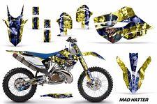 AMR Racing MX Husqvarna TC 125/250 FC 250-450 Graphic Kit Bike Decal 14-15 MH YU