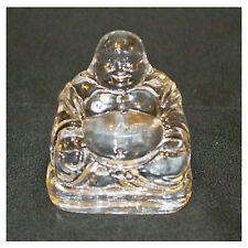 Maitreya Buddha - Clear cut glass oranment - Perfect Gift - NEW