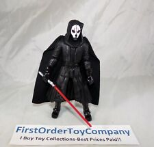 "Star Wars Black Series 6"" Inch Gamestop Darth Nihilus Loose Figure COMPLETE"
