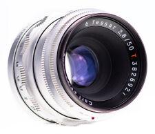 Carl Zeiss Tessar 50 mm f 2,8 RED T / 12 Blades / M42  / Q1 / SN 3826927 ( 648 )