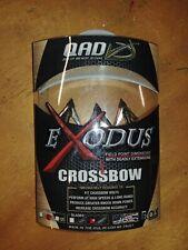 Qad Exodus Broadhead 100 Grain Swept Blade- Crossbow- Bc100-S