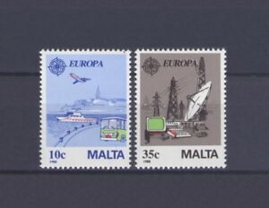 MALTA, EUROPA CEPT 1988, COMMUNICATION & TRANSPORT, MNH