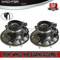 PAIR (2) Front Wheel Bearing Hub Fits For 2004-2008 GMC Chevy Colorado 4WD 6 Lug