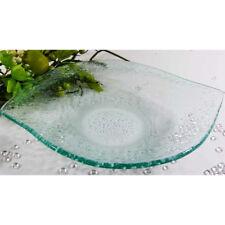 Schale Griff Struktur Dotts Glasteller Servier Teller Snackteller Appetizer