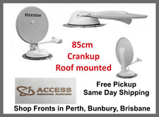 85cm Crank Up Wind Up Satellite Dish Maxview B2590/85 Manual Caravan Motorhome