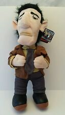 """Toy Warehouse Plush 16"""" The Gangsters Mob Man In Brown Jacket Sewn Eyes"""
