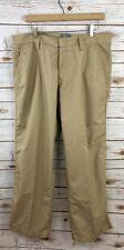J. Lindeberg Tan Khaki Rain Wind Golf Pants Men's 36X32, Regular Fit Polyester