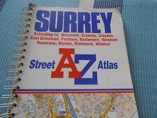 AZ Street Atlas Surrey
