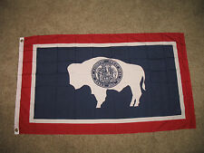 Wholesale Lot 10 3x5 State of Wyoming Polyester Flag 3'x5' Banner