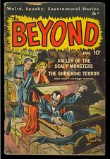 The Beyond #2 Vampire Cover Pre-Code Horror Bakerish Art Ace Comic 1952 GD+