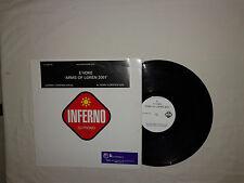 "E'voke – Arms Of Loren 2001– Disco 12"" Vinile PROMO 45 Giri Stampa UK 2001"