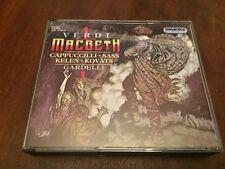 Macbeth by Verdi; Cappuccilli; Sass; Kelen; Gardelli