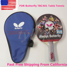 NEW Butterfly TBC401 Table Tennis Ping Pong Racket Paddle Bat Blade FL FREE USPS