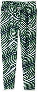 Zubaz Seattle Seahawks Mens Size 2X-Large or 3X-Large Zebra Print Pants C1 1927