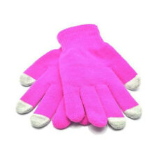 Touch glove Ladies Baby Pink Warm Gloves for Smartphones, Tablets, Sat Navs,ipad