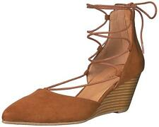 Kenneth Cole Reaction Women's Stand Down Wedge Pump Cognac Size 6.5M