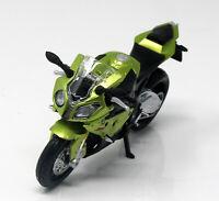 Modell Motorrad 1:18  BMW S 1000 RR light green metallic Maisto