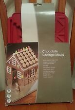 Chocolate silicone cottage mould,new