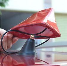 Car With Blank Radio Shark Fin Antenna Signal AERIAL 3M Adhesive For Mazda M3