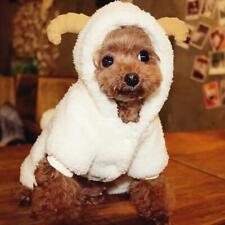 New listing Halloween Pet Costume Dog Jumpsuit Sheep Roleplay