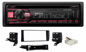 ALPINE CD Receiver Stereo Android/MP3/WMA/USB/AUX For 02-06 Toyota Camry