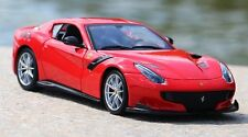 Bburago 1:24 Ferrari F12 tdf Red Diecast Model Sports Racing Car Vehicle NEW