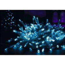 12m 120 LED Premier Supabrights Multi Action Christmas Lights Blue