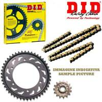 DRIVE CHAIN KIT DID VM PINION BACK Steel SPROCKET KAWASAKI 650 KLE Versys 07/14