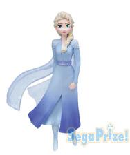 FROZEN 2 Premium Figure Elsa SEGA Japan Luckykuji Disney with Box
