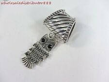 US SELLER owl scarf pendant and slide tube set scarf jewelry DIY supply