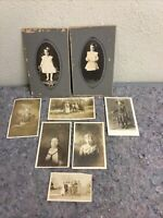 Lot Of Antique Photos With Several RPPC Real Photo Postcards