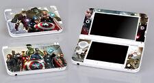Avengers 345 Vinyl Decal Cover Skin Sticker for Nintendo 3DS XL/LL
