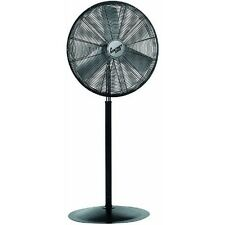 "Comfort Zone 30"" High Velocity Pedestal Industrial Fan - CZHVP30"