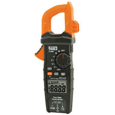 Klein Tools CL600 Digital Clamp Meter, AC Auto-Ranging, 600A, TRMS True RMS