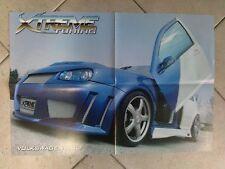 Q63 Poster Volkswagen Golf Xtreme Tuning 55 x 40 cm.